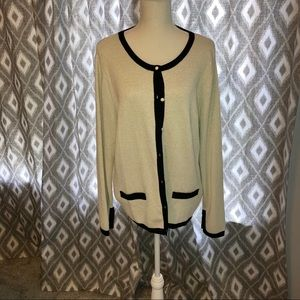 Dressy Button front Sweater